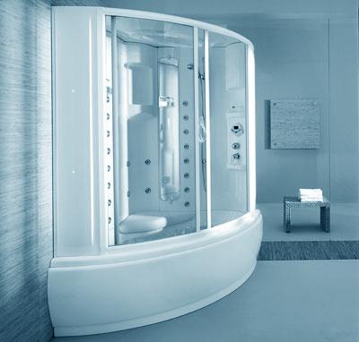 Vasche idromassaggio for Vasca e doccia combinate